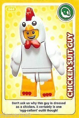 Lego Create The World Card No.044 - CHICKEN SUIT GUY