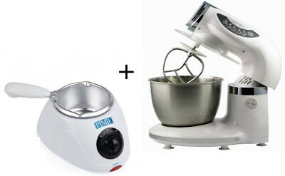 PME Electric Chocolate Candy Melting Pot and 5 Speed Cake Food Stand Mixer
