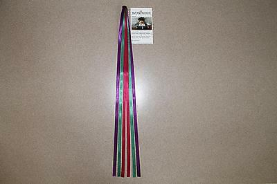 1 Bible Study or College Multi Page Ribbon Bookmarks for all Bibles & books,Tr