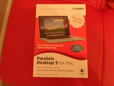 NEW Parallels Desktop 5 for Mac FREE POSTAGE!