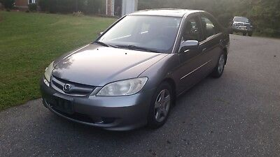 2004 Honda Civic EX Sedan 4-Door 2004 HONDA CIVIC - GREAT CONDITION - NO RESERVE!!