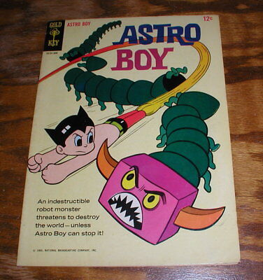 Vintage 1965 Astro Boy 12 Cents Gold Key Comic Book No. 1