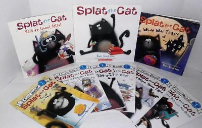 Lot <9>  SPLAT THE CAT Scotton  Picture Book Reader I CAN READ  PreK-1