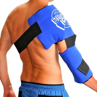 Pro Ice Adult Long Lasting Pain Relief Shoulder and Elbow Cold Therapy Ice Wrap