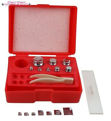 Weigh Scales Calibration Weight Kit G Gram Set Balance Weights Class M2 Scale