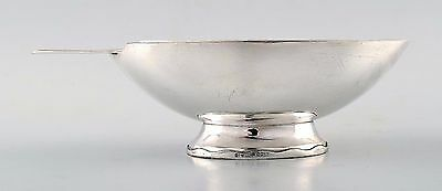 "Rare and fine silver plated ""Swan"" sauce/gravy boat by Christian Fjerdingstad"