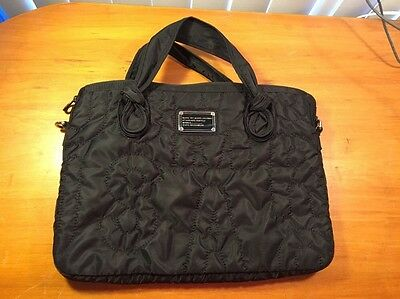 Marc by Marc Jacobs Laptop Bag Quilted Nylon Tote Standard Supply Workwear