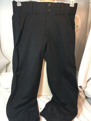 UNDER ARMOUR Men's Size Medium Black Athletic Baseball Compression Pants