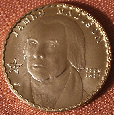 Madison Concept Pattern Free-Range* dollar coin by Daniel Carr  2007D