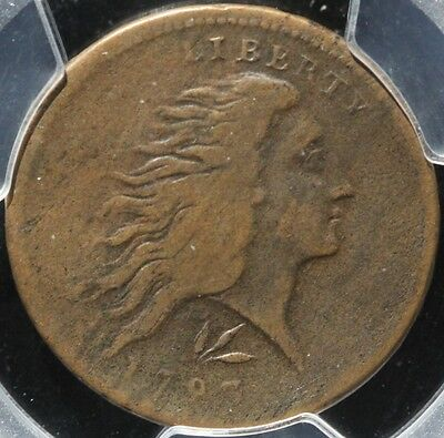 "Very Nice & Rare 1793 S-11C ""lettered Edge"" Wreath Cent, Pcgs Vf20, 3-Day Return"