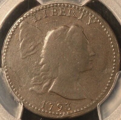 Very Rare 1793 Liberty Cap Large Cent, Variety S13-R4, Pcgs F15, 3-Day Return