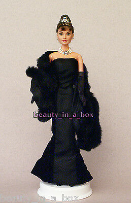Audrey Hepburn Barbie Doll in 1956 Classic Givenchy Celebrity Redress NO BOX