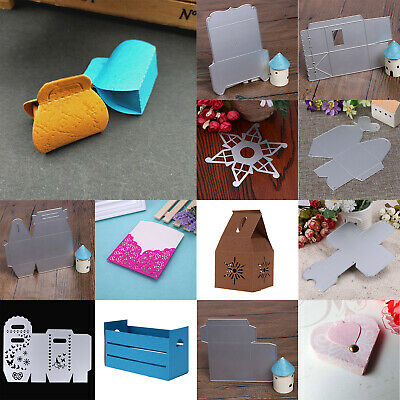 Gift Box Metal Cutting Dies Stencil DIY Scrapbooking Embossing Paper Card Craft