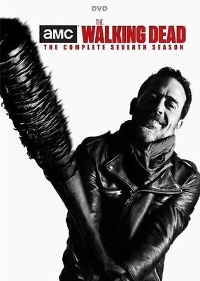 The Walking Dead: Season 7 DVD 2017 5-Disc Set Factory Sealed New Free shipping