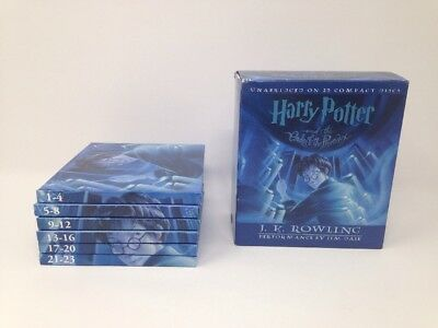Harry Potter And The Order Of The Phoenix Unabridged Audio Book 23 CDs Disc