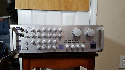 RSQ Pro PA-3000 Mos fet power amplifier - Work good