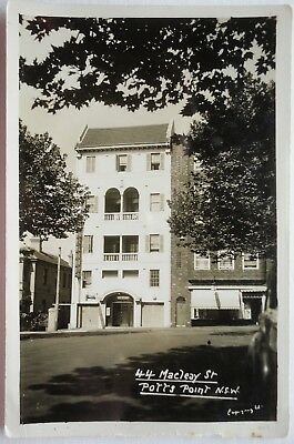 44 MACLEAY STREET POTTS POINT NSW SYDNEY - Mowbray Series - UNUSED POSTCARD