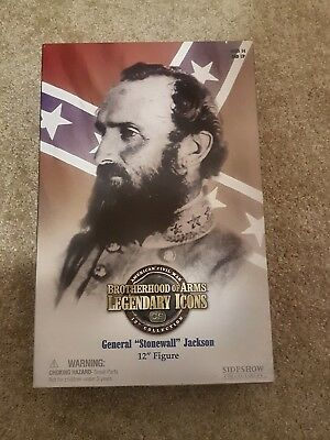 """sideshow collectibles brotherhood of arms general """"stonewall"""" Jackson 12"""" Figure"""