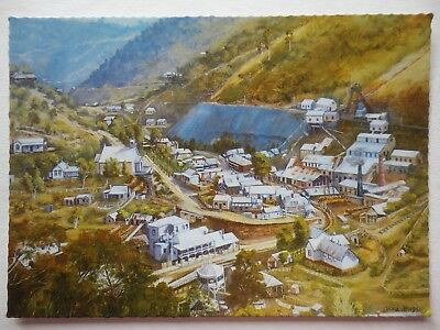 WALHALLA VICTORIA - Painted - unused postcard Scancolor