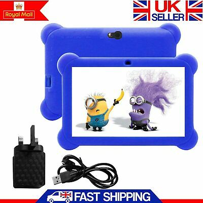 7″ INCH KIDS ANDROID TABLET PC QUAD CORE 4.4 WIFI Camera UK STOCK CHILD CHILDREN