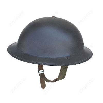 WW2 UK BRITISH Army MK2 Helmet With All The Accessories Army Green UK/407101