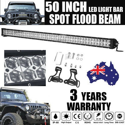 """50Inch 1152W Philips Led Work  Light Bar Spot Flood Offroad Driving Lamp 4Wd 52"""""""