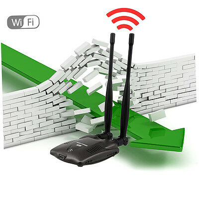 3000mW High Power N9100 Wireless USB Wifi Adapter For Ralink 3070 Chipset DY