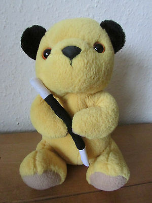 Fab Cute Super Soft *sooty* Plush Soft Toy With Wand - Sooty And Sweep