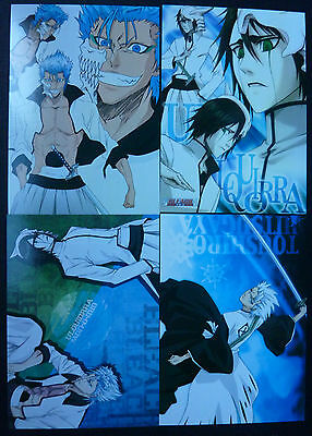 Bleach Post cards X 4