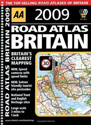 AA Road Atlas Britain (AA Atlases and Maps) (AA... by AA Publishing Spiral bound