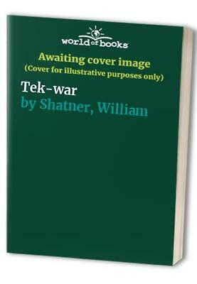 Tek-war by Shatner, William Paperback Book The Cheap Fast Free Post