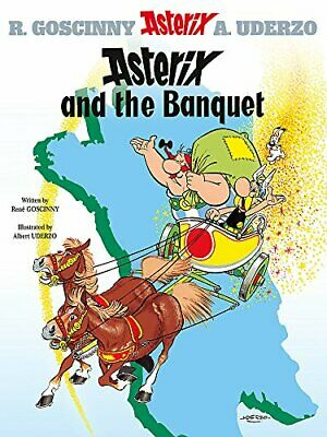 Asterix and the Banquet: Album 5: Bk. 5 by Albert Uderzo Paperback Book The
