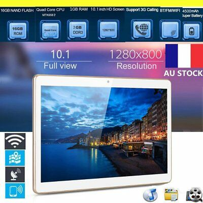 10.1 Inch Quad Core MTK6852 Chip IPS Screen 3G Phone Call Tablet 800*1280 QY