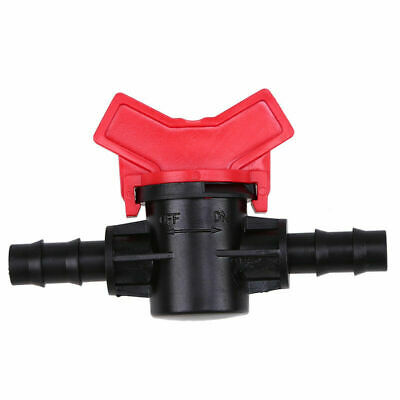 Plastic Water Hose Pipe Connector Garden Tap Drip Irrigation Valve 8/9/11/12mm