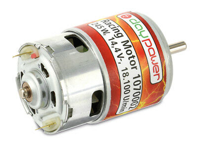Racing-Motor DAYPOWER 1070002 DC-Motor DAYPOWER 1070002, 14,4V 18150U/min, Welle