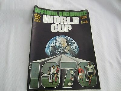 1970 Mexico World Cup Official Brochure