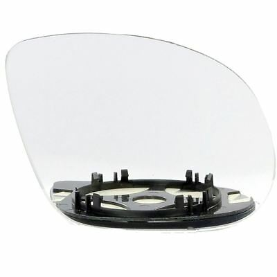 Right Driver Side Wide Angle Mirror Glass for Vauxhall Corsa C 2000-2006 25RAS