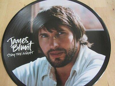 "12"" PICTURE DISC *** JAMES BLUNT *** Stay The Night  4-Tracks"