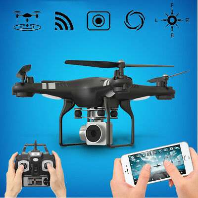 Wide Angle Lens HD 2MP Camera Video Quadcopter RC Drone WiFi FPV Altitude Hold