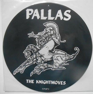 "PALLAS The Knight Moves - 12"" Picture Disc (1985)"