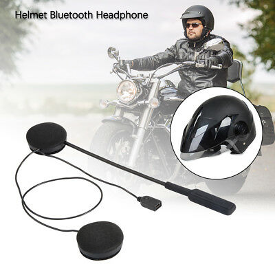 Motorcycle Helmet Bluetooth V4.0 Headset Headphone Music w/ Mic for Phone AC903
