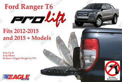 Ford Ranger T6 Tailgate Assistant Pro Lift Easy Up Easy Down - 95% Weight Reduct
