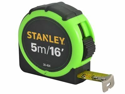 Stanley Hi Vis Tape Measure 5m 16ft Metric Imperial  STHT0-74136