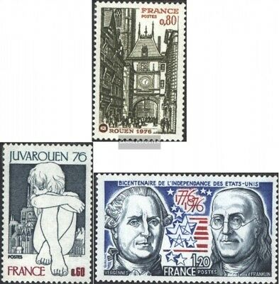 France 1959,1960,1963 (complete issue) unmounted mint / never hinged 1976 specia
