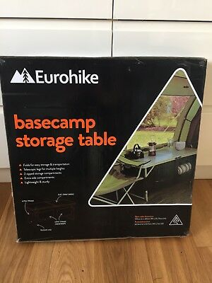 Eurohike Basecamp Storage Camping Table - Brand New in Box
