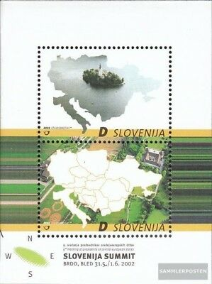 slovenia block15 (complete issue) used 2002 state president Cen