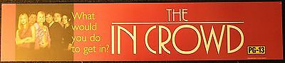 The In Crowd, Large (5X25) Movie Theater Mylar Banner/Poster