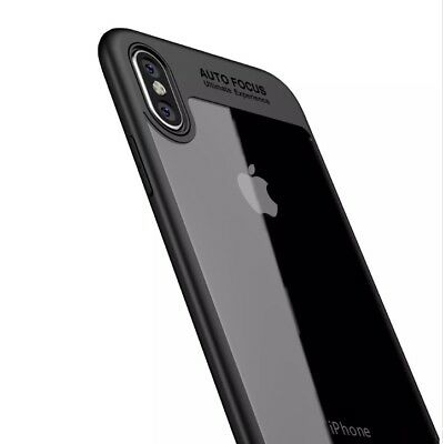 Slim Shockproof Fusion Bumper Clear Back Case For iPhone 8 Plus X