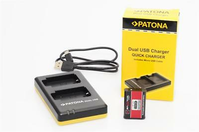 Patona Dual USB Quick Charger for Sony
