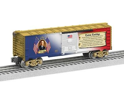 Lionel 6-25932 President Calvin Coolidge Box Car Presidential Series O Gauge